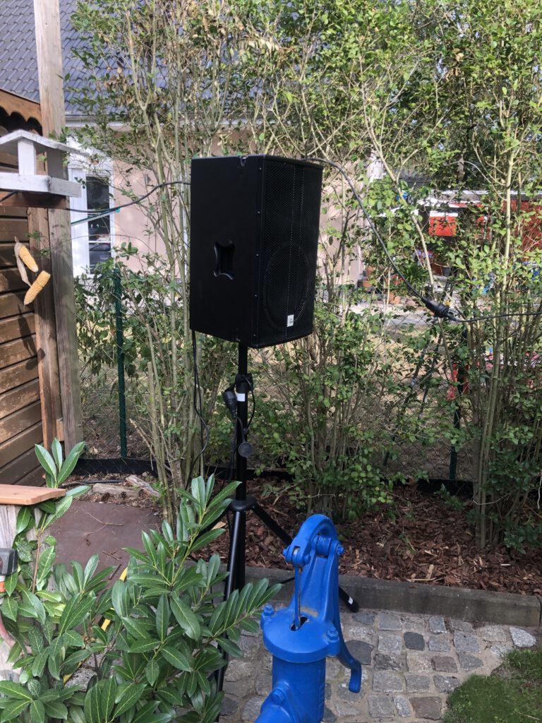 einzelner Lautsprecher für z.B. den Außenbereich