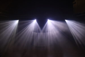 Moving Heads mit Gobo